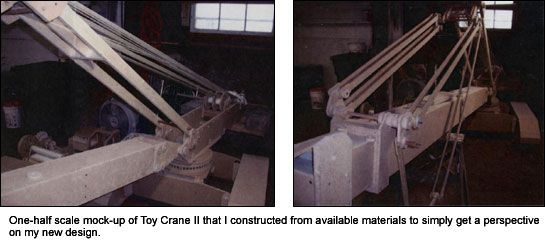 Toy Crane II prototype