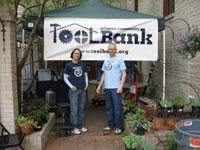 Carey Martin & Mark Brodbeck of the ToolBank