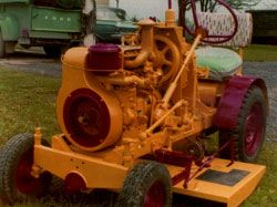 Homemade Tractor Mower
