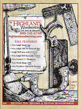 Highland Woodworking New Tool Catalog