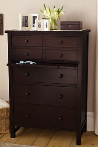 Pottery Barn Dresser with Satin Finish