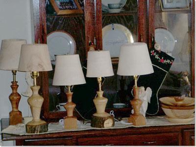 Turning Wooden Lamp Shades