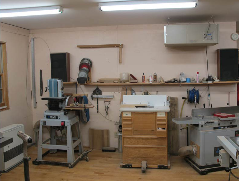 Woodturning Workshop Converted Barn