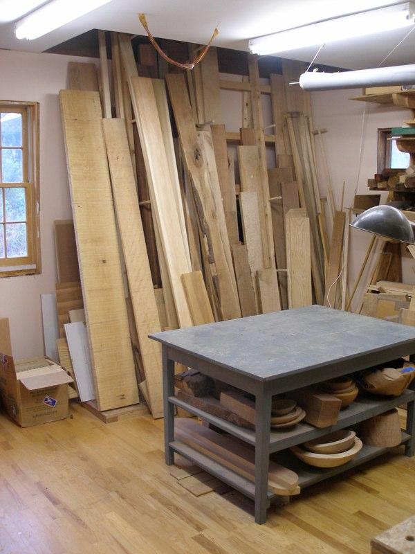Woodturning Workshop Converted Barn