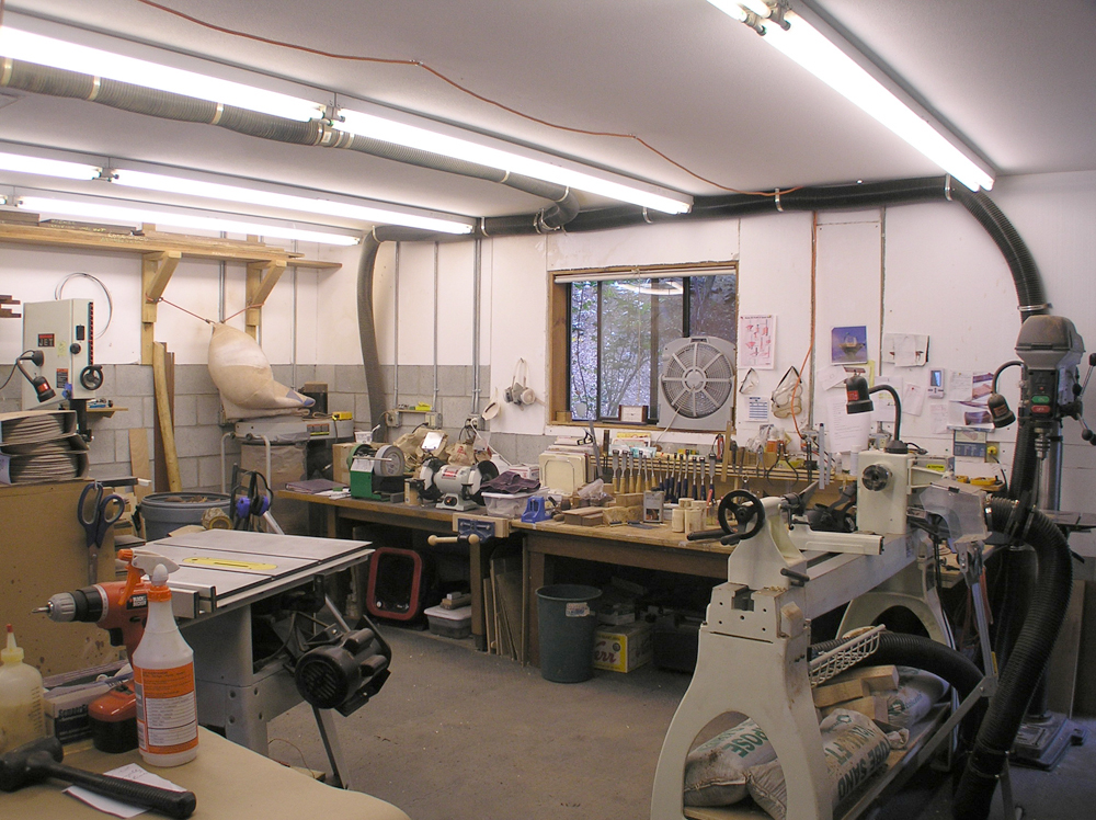 Woodturning Workshops | Fred Mott