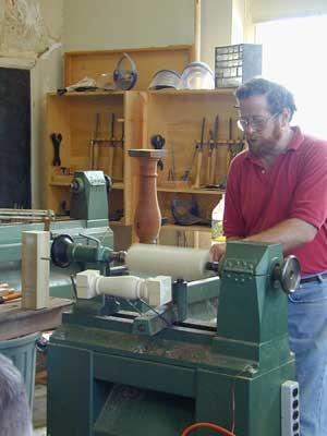 Woodturning Shop Temple Blackwood