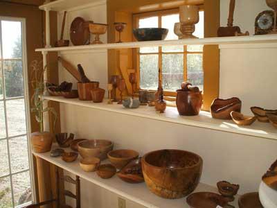 Woodturning Shop Temple Blackwood