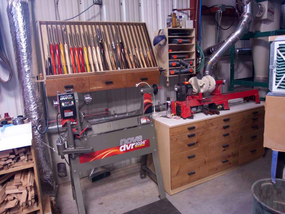 PDF Plans Wood Turning Shop Download storage locker