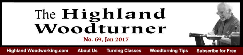 Highland Woodturner, No. 69, January 2017