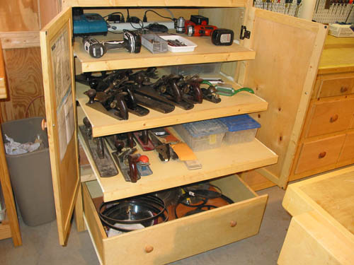 woodworking shop storage