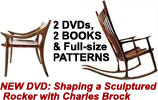Sculptured Chair Plan Bundles