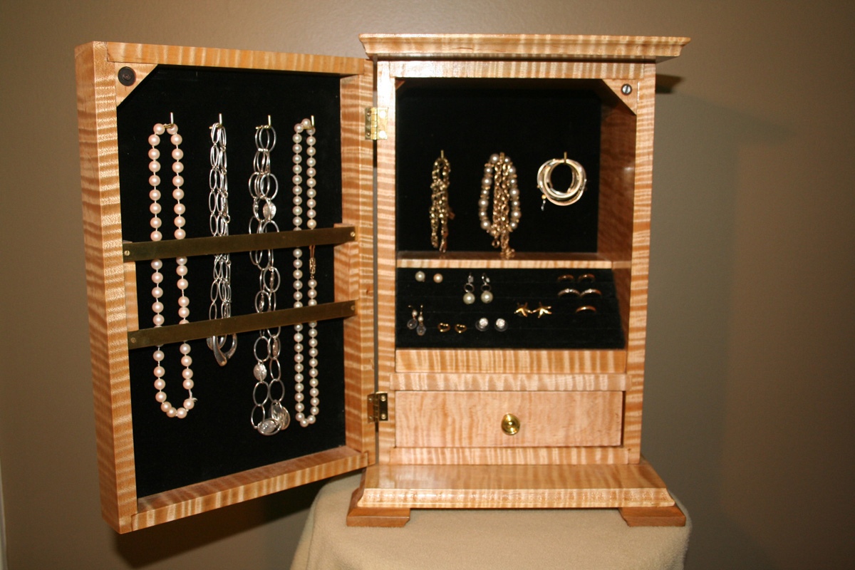 Jewelry Cabinet Fine Furniture