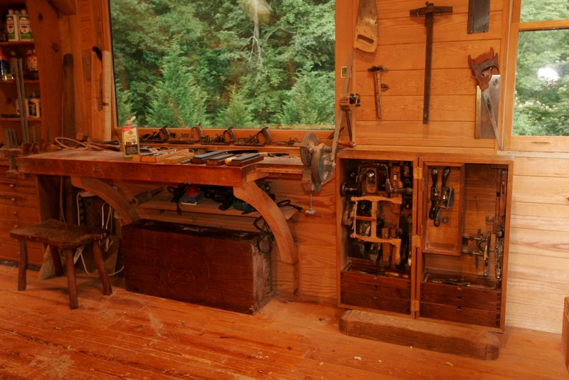 Workshop Organization Timber Frame Woodshop