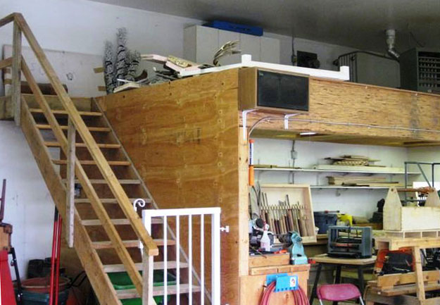 wood how to build wood mezzanine pdf plans
