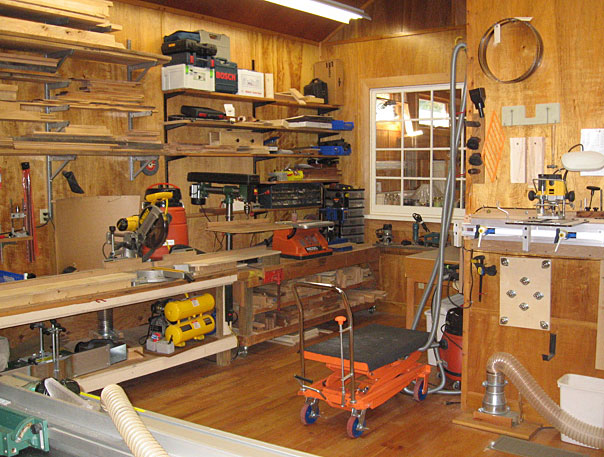 Woodworking Workshop Greg Matthews