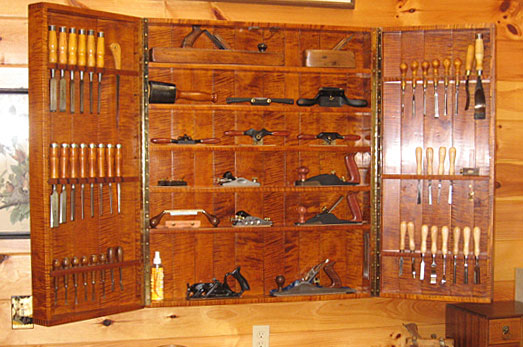 Creative Hand Tool Cabinet  Woodworking Hand Tools  Pinterest