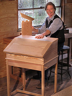 Roy Underhill At Highland Woodworking