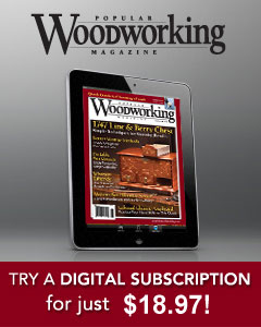 Popular Woodworking Subscription Image