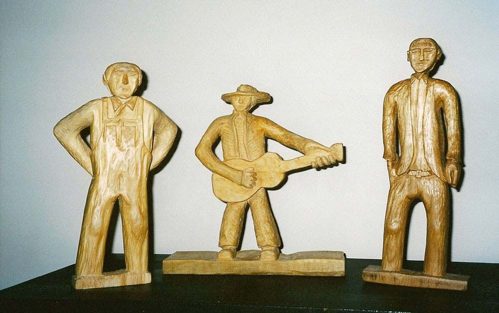 Don Wood Athens >> Carving Projects   Cal Logue