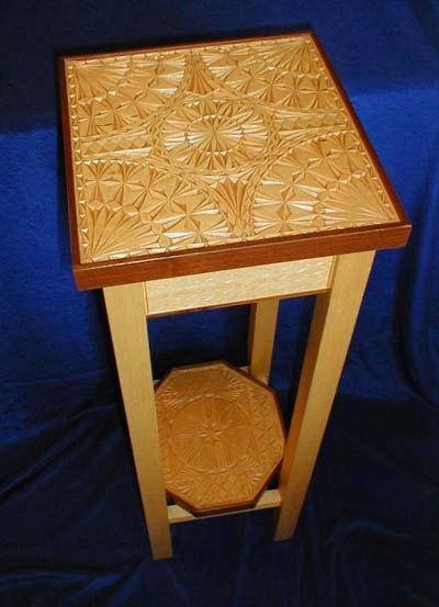 Chip carving instructor mickey hudspeth