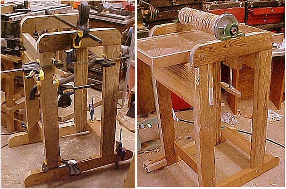 Building a Thickness Sander and Re-Saw Jig | Linda Master on homemade thickness sander plans, homemade drum sander parts kits, homemade pipe sander plans, homemade lathe compound feed, homemade wood sander machine for, homemade edge sander plans, homemade spindle sander plans,