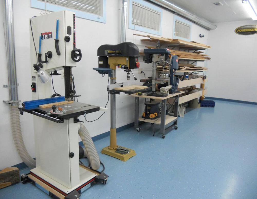Model Wood Shop Tools And Equipment PDF Woodworking