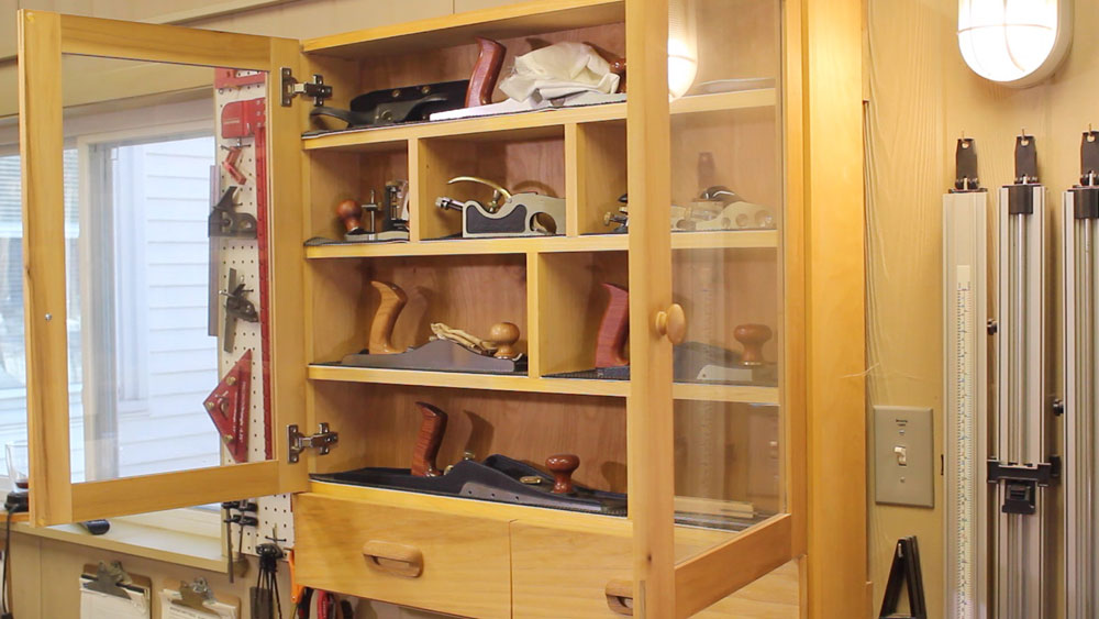 The 5S Compliant Shop Wall Cabinet | The Down To Earth Woodworker