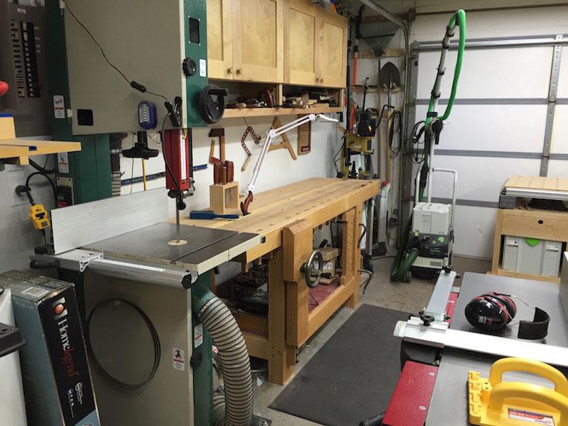 shop woodworking machine