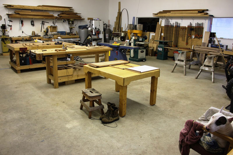 Woodworking Workshop Jim Draper
