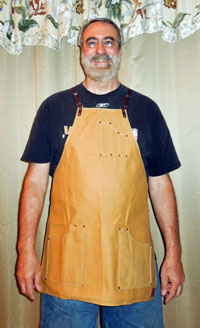 Canvas Apron by Texas Heritage Woodworks