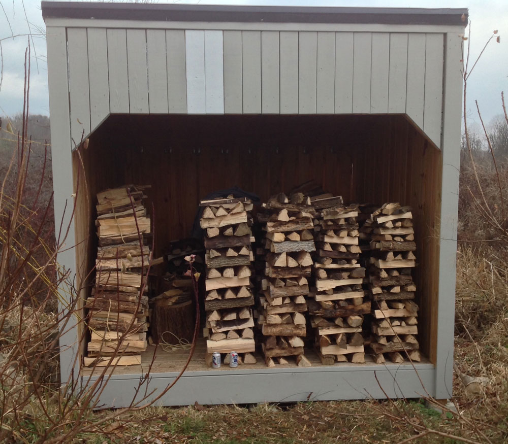 Finest Building a 3-Sided Farm Woodshed | Jon Rubin MM94