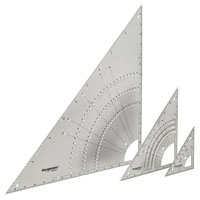 NEW Woodpeckers OneTime Tool 45-90 Stainless Steel Triangles