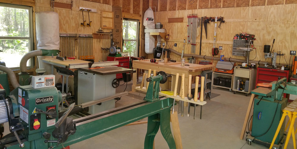 Woodworking Workshop Derik Vanvleet
