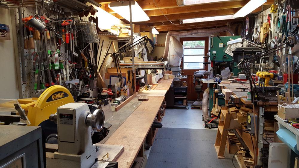 Woodworking Workshop Bob Nisbet