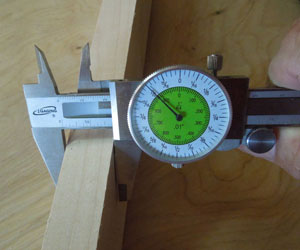 Woodworker's 6 inch Dial Caliper
