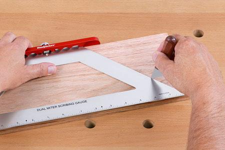Woodpeckers OneTime Tool Dual Miter Scribing Gauge