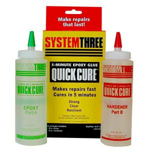 System Three Quick Cure Epoxy 165043