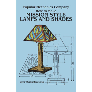 How to make mission style lamps and shades mission lamp books mission style lamps shades from popular mechanics 200248 mozeypictures Image collections