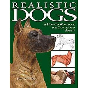 Realistic Dogs: A How-To Workbook for Carvers and Artists by Jack Kochan 203604