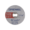 Dremel EZ Lock Thin Cut-Off Wheels 5 Pack, 128923