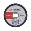 Dremel EZ Lock Plastic Cut-Off Wheels 5 Pack, 128926