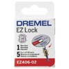 Dremel EZ Lock Starter Kit with 5 Cut Off Wheels 128941