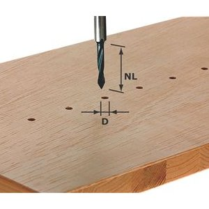 how to cut round dowel
