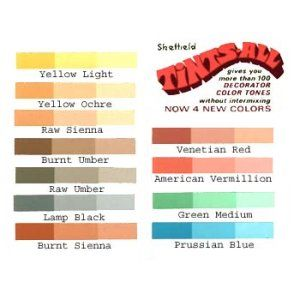 Tints-All Universal Tinting Colorant 12 Color  Assortment - 1-1/2 oz 194901