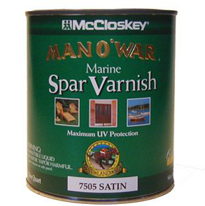 McCloskey Satin Marine Spar Varnish Quart 195912