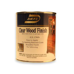 Deft Gloss Brushing Lacquer Gallon 8601997