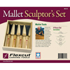 Flexcut Mallet Sculptor's Set of 4 125137
