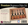 Flexcut Premium Beginners Palm Chisels - Set of 5 125785