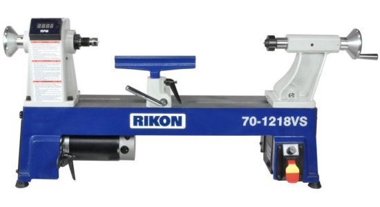 Rikon 12 inch VS Midi Lathe 70-1218VS