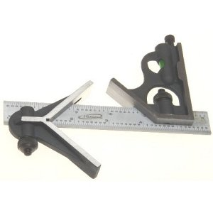 6 inch Precision Combination Square with Center Head